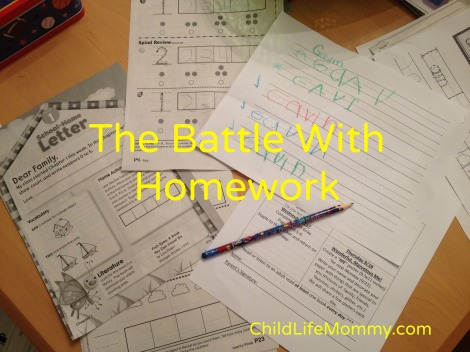 I cant get my child to do his homework