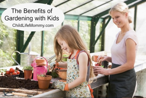 Benefits fo Gardening with Kids