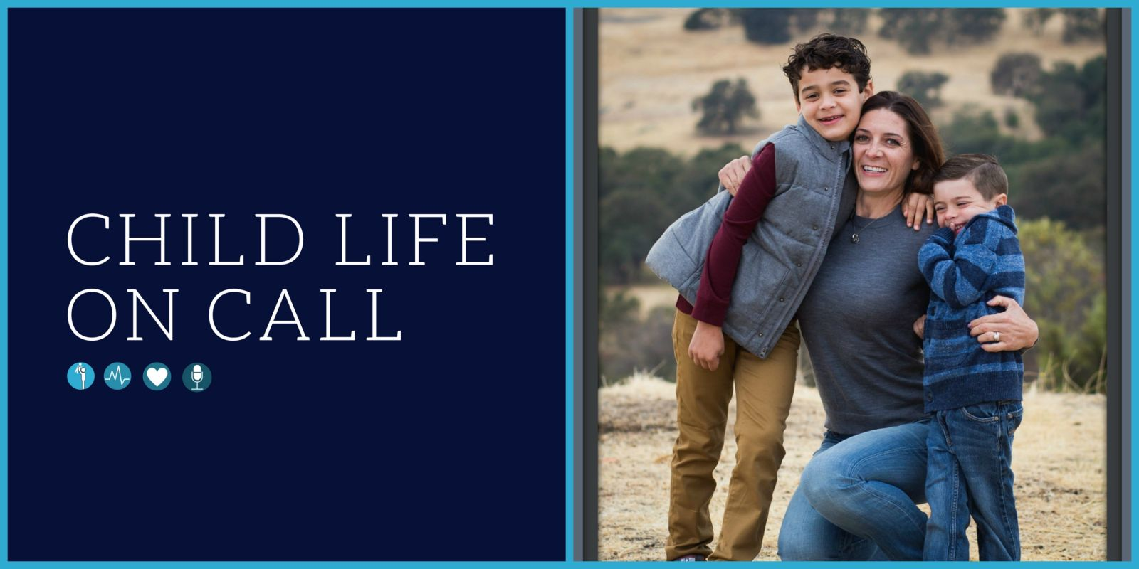 There is always an interesting story to how a child life specialist  discovered the field and how they provide services in a non-traditional way.